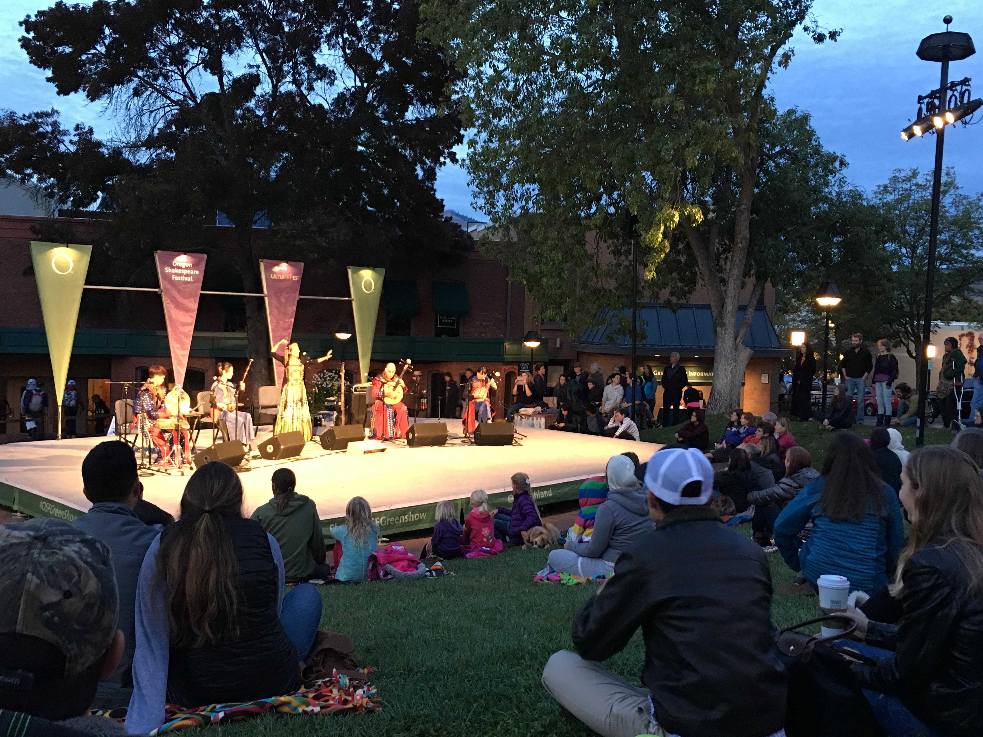 美國 奧勒岡莎士比亞戲劇節 戶外演出